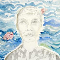 Gezeichnetes Portrait von Frau Almut Determayer